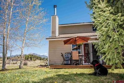 Pagosa Springs Condo/Townhouse For Sale: 5584 Cr 600 #124