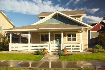 Durango Single Family Home For Sale: 260 Salt Brush Street
