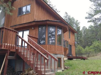 Bayfield Single Family Home UC/Contingent/Call LB: 452 Alpine Forest Drive