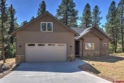 Durango Single Family Home For Sale: 295 Copper Rim Trail