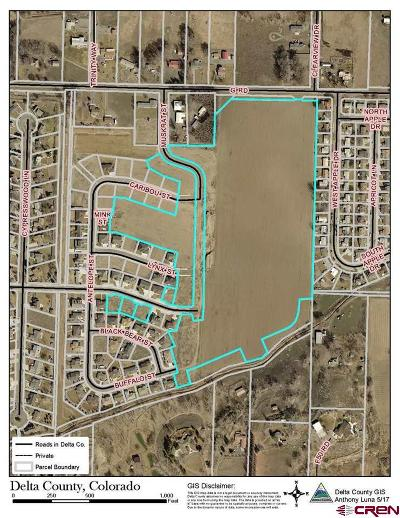 Delta Residential Lots & Land For Sale: Muskrat Street