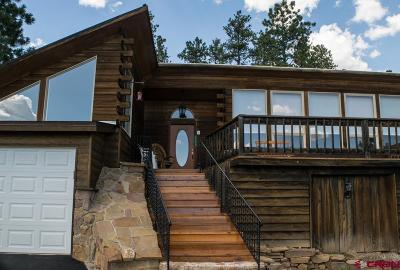 Pagosa Springs Single Family Home For Sale: 5600 County Road 700