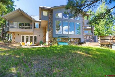 Pagosa Springs Single Family Home For Sale: 185 Steven's Lake Rd.