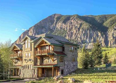Crested Butte Condo/Townhouse For Sale: 22 Birdie Way