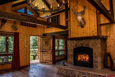 Pagosa Springs Single Family Home For Sale: 10601 County Rd. 326