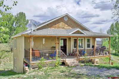 Paonia Single Family Home For Sale: 37 Box Elder Dr