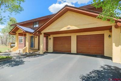 Pagosa Springs Single Family Home UC/Contingent/Call LB: 187 Arbor