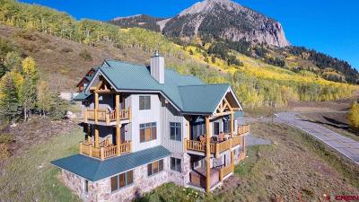 Mt. Crested Butte Single Family Home For Sale: 1 Forest Lane
