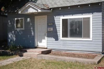 Delta CO Single Family Home For Sale: $127,500