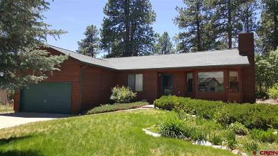 La Plata County Single Family Home For Sale