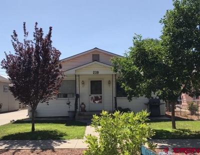 Delta CO Single Family Home For Sale: $179,900