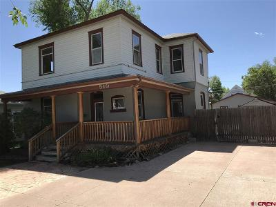 Montrose Single Family Home For Sale: 510 S 2nd Street