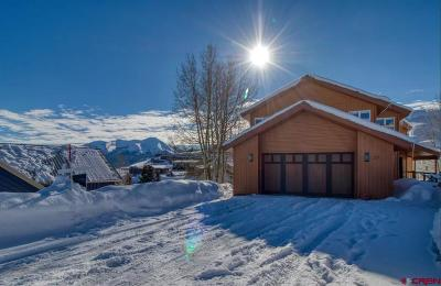 Mt. Crested Butte Single Family Home For Sale: 27 Treasury Road