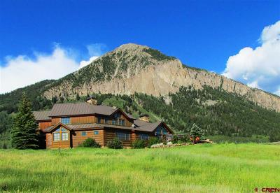 Crested Butte CO Single Family Home For Sale: $9,995,000