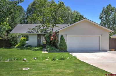 Bayfield Single Family Home For Sale: 278 Meadows Circle