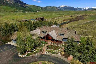 Crested Butte CO Single Family Home For Sale: $4,600,000