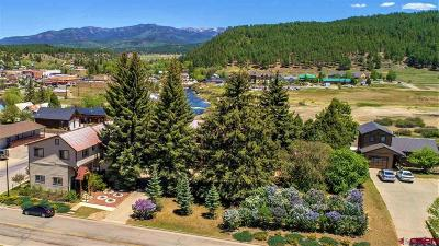 Pagosa Springs Single Family Home For Sale: 218 S 7th Street