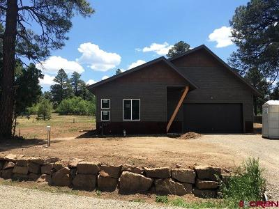 Pagosa Springs Single Family Home For Sale: 35 Tee Court