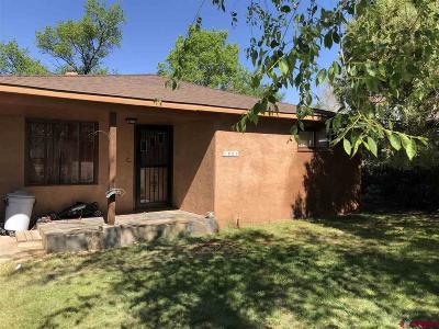 Cortez Single Family Home For Sale: 1003 Alma Avenue
