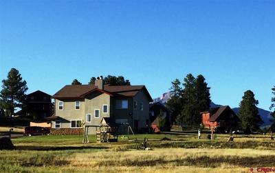Pagosa Springs Single Family Home For Sale: 445 Saddle Circle