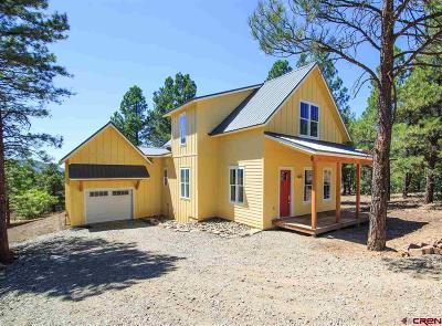 Pagosa Springs Single Family Home For Sale: 66 Woodridge Circle