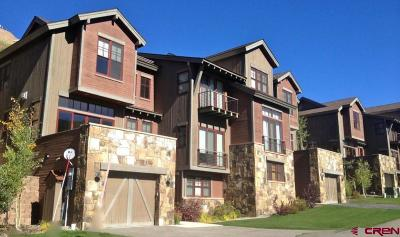 Mt. Crested Butte Condo/Townhouse For Sale: 114 Snowmass Road #24A