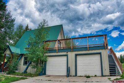 Mt. Crested Butte Single Family Home For Sale: 750 Gothic Road