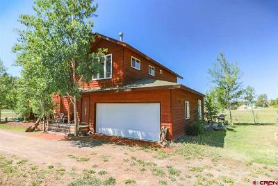 Pagosa Springs Condo/Townhouse For Sale: 501 Alpine Drive #B