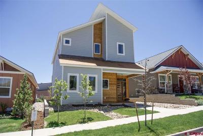 Durango Single Family Home For Sale: 531 Confluence Avenue