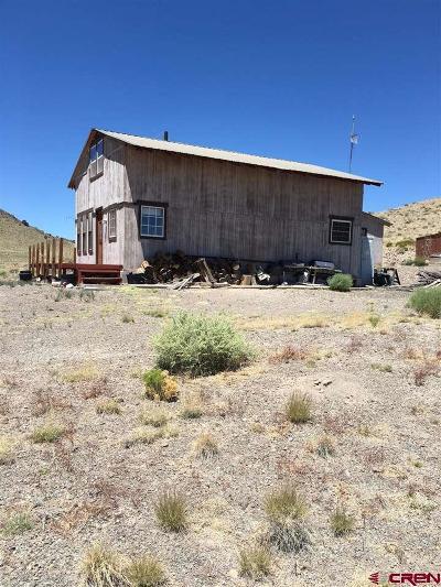 Del Norte Single Family Home For Sale: Private Road