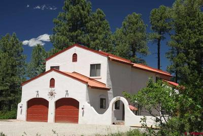 Pagosa Springs Single Family Home For Sale: 259 Walnut Place