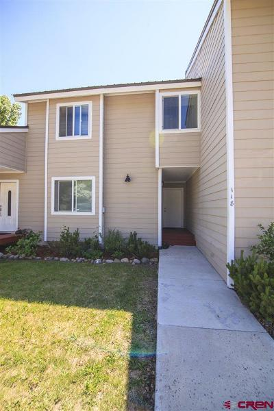 Pagosa Springs Condo/Townhouse For Sale: 5584 County Road 600 #118
