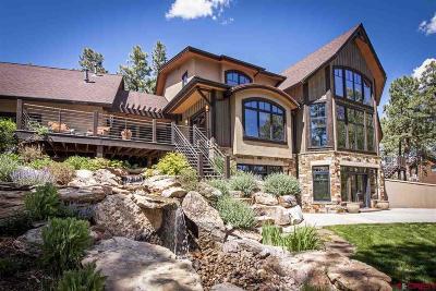 La Plata County Single Family Home For Sale: 478 Monarch Crest Trail