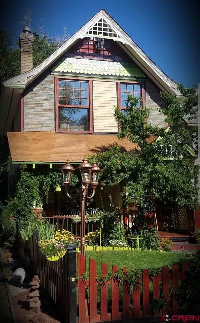 Durango Single Family Home For Sale: 927 E 4th Avenue