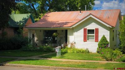 Durango Single Family Home For Sale: 615 E 6th Ave