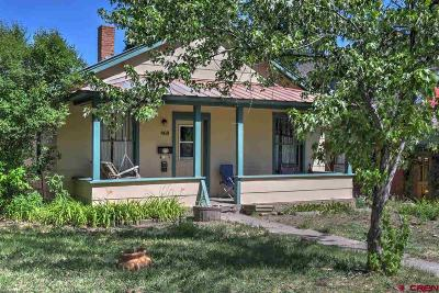 Durango Single Family Home For Sale: 468 E 3rd Avenue