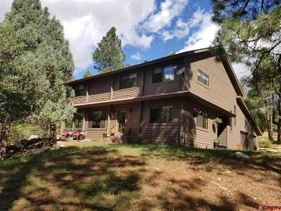 Durango Single Family Home For Sale: 105 Rockridge Circle