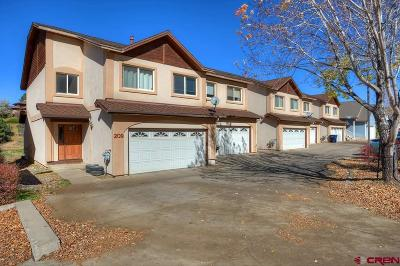 Durango Condo/Townhouse For Sale: 209 Jenkins Ranch Road #C