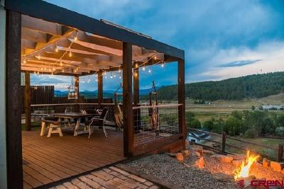 Pagosa Springs Single Family Home For Sale: 476 S 7th Street