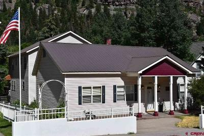 Ouray Single Family Home For Sale: 520 2nd Street