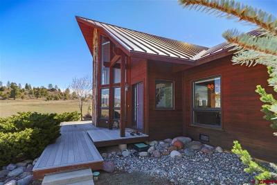 Pagosa Springs Single Family Home For Sale: 61 Sage Circle