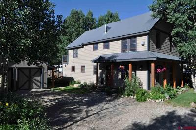 Crested Butte (Town Of) Single Family Home For Sale: 620 Maroon Avenue