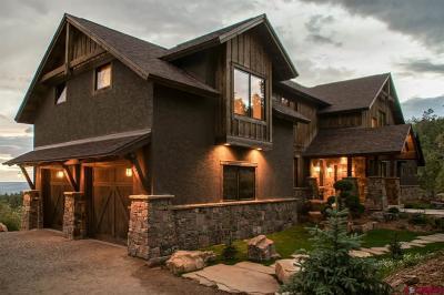La Plata County Single Family Home For Sale: 1707 Durango Cliffs Drive