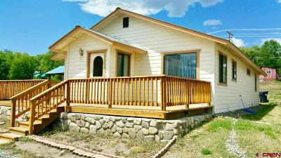Pagosa Springs Single Family Home For Sale: 435 S 8th Street
