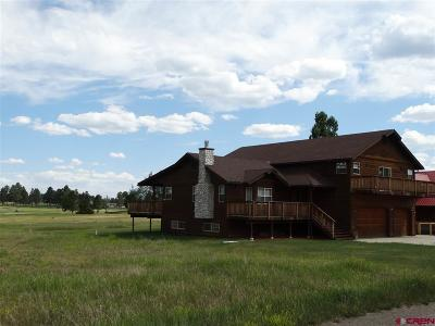 Pagosa Springs Single Family Home For Sale: 104 Divot Place