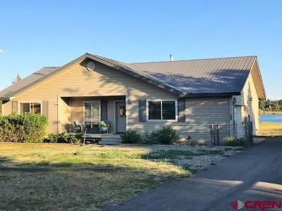 Pagosa Springs Single Family Home For Sale: 37 Fish Cove Court