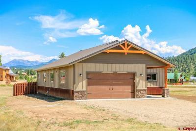 Pagosa Springs Single Family Home For Sale: 91 Morro Circle