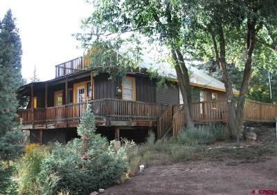 Pagosa Springs Single Family Home For Sale: 303 Lewis Street #A &