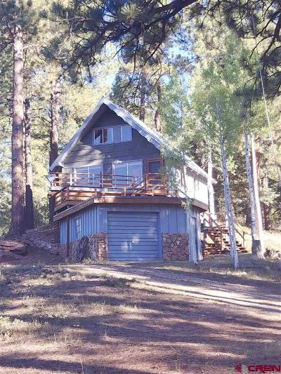 Durango Single Family Home For Sale: 375 Ridge Crest