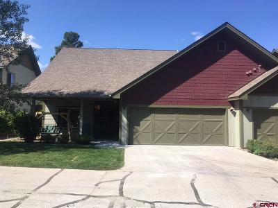 Pagosa Springs Condo/Townhouse For Sale: 135 Eaton Drive #1020